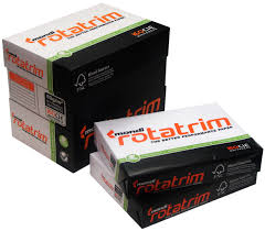 80GSM A4 ROTATRIM PAPER 2500$ PER BOX 5 REAMS PER BOX 500$ PER REAM